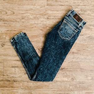 BKE Denim 90's Acid Washed Style Stretch Jeans